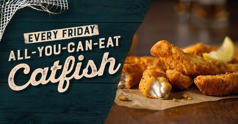 Seafood - Famous Dave's Detroit - AYCE_Catfish