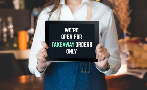 Safe Take-Out Meals During the Shelter in Place Guidelines for COVID-19 - famous_daves_takeout_orders