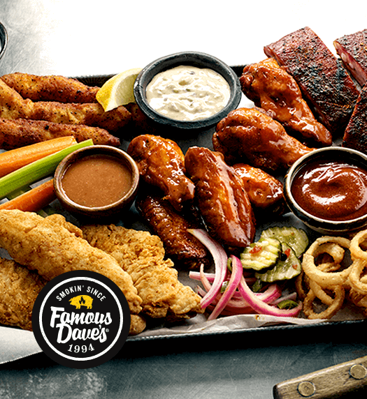 Michigan Barbecue Restaurants & Catering: Award-Winning Famous Dave's - home