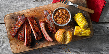 Barbecue Food To Go Metro Detroit MI - Famous Dave's - menu-award-winning-ribs