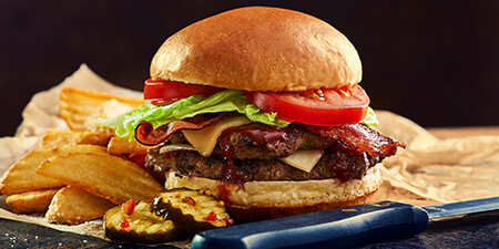 Best Family Restaurant Woodhaven MI - Famous Dave's - menu-lunch-burgers