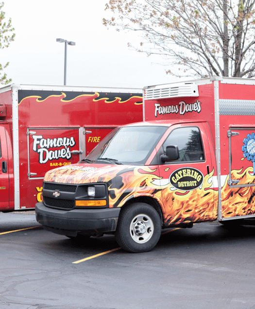 Our Story: Award-Winning BBQ Ribs in Metro Detroit | Famous Dave's - truck